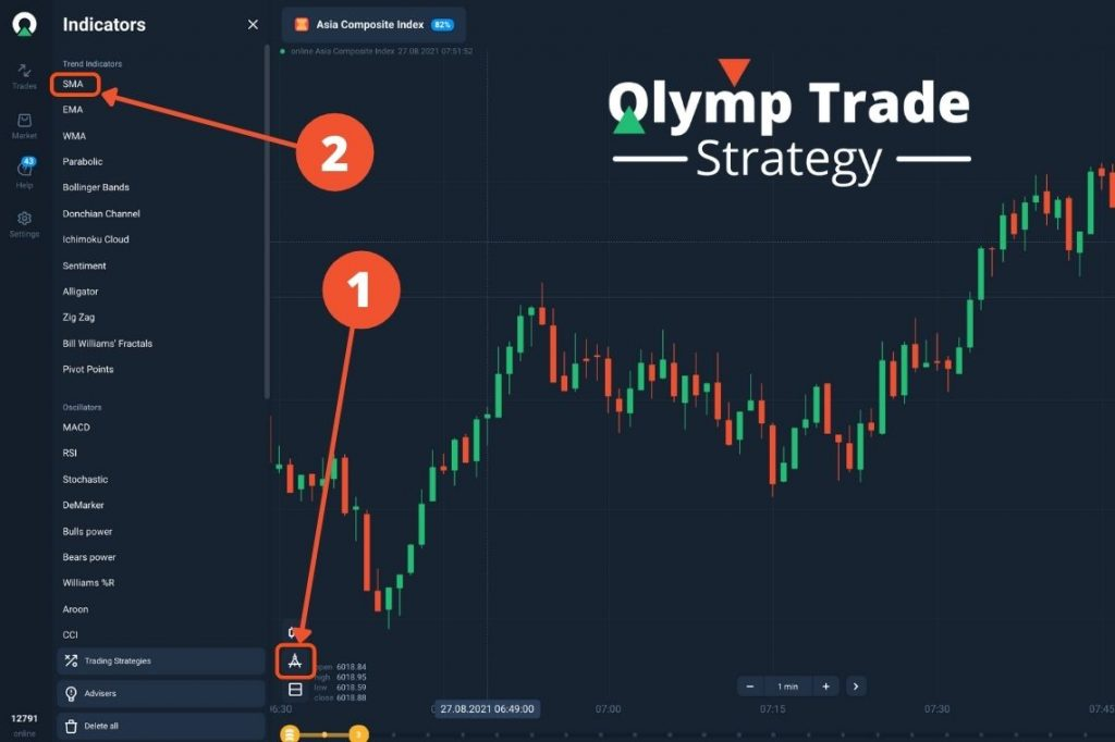 Olymp Trade SMA Strategy. How To Use Simple Moving Average In Olymp Trade?